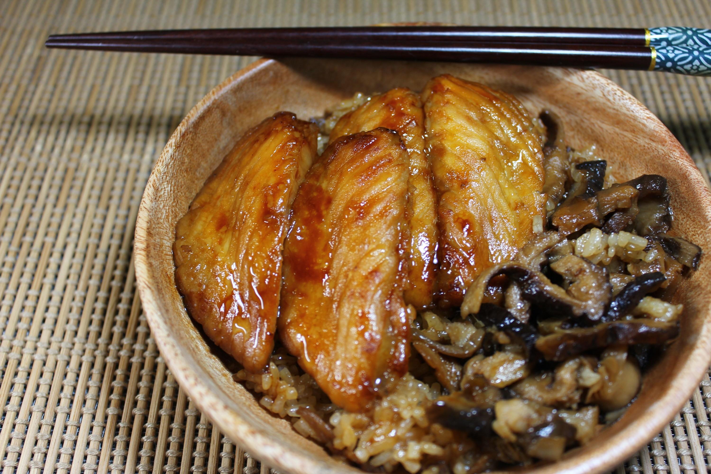 蒲燒鯛油飯